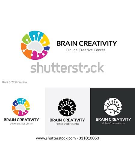 brain creativity logo brain