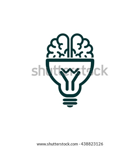 Brain idea icon