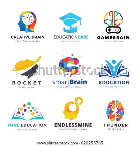 brain logo and creative