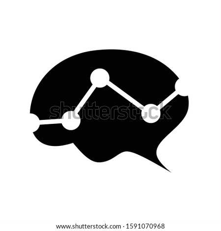 Brain logo vector, suitable for creativity, learning, healthy, positive thinking, science, mind focus and creative ideas symbol/icon designs.