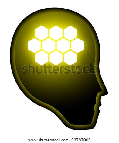 Brain tech human eps10