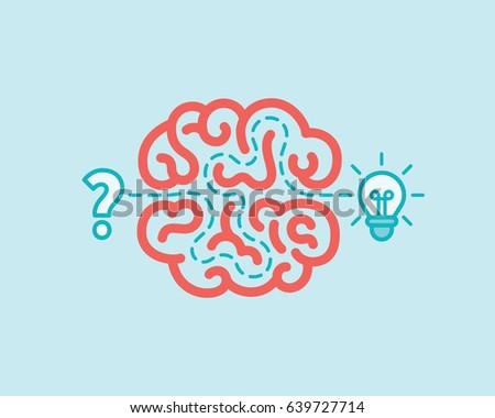 brainstorm concept. innovation...