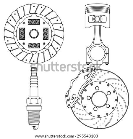 brake disc  clutch disc