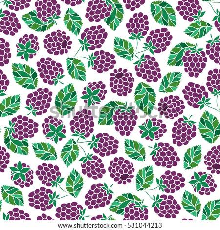 bramble seamless pattern
