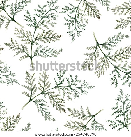 branches of plants seamless