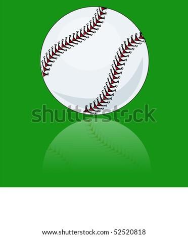stock-vector-brand-new-baseball-illustration-vector-reflected-on-green-background-52520818.jpg