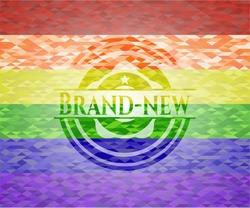 Brand-new lgbt colors emblem
