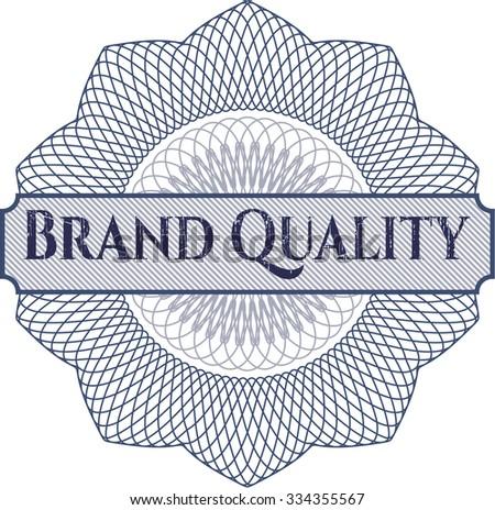 Brand Quality rosette