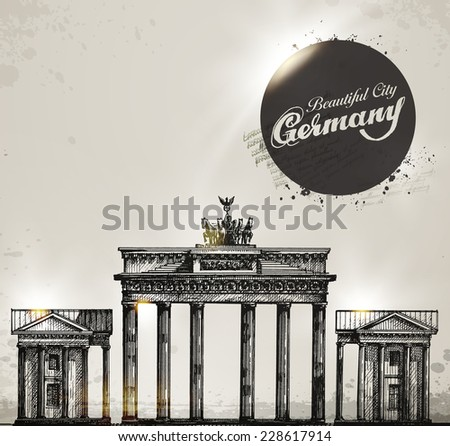 brandenburg gate berlin arch