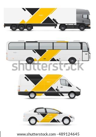 branding design for transport