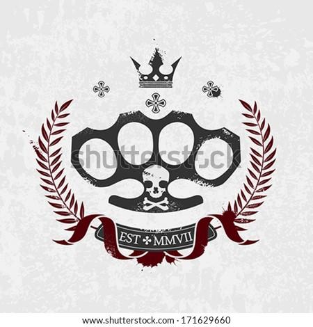 brass knuckle emblem