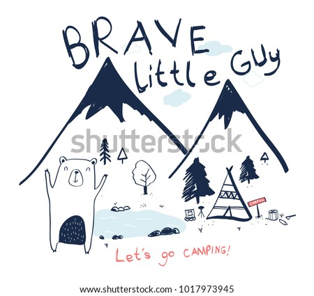 brave little guy slogan and