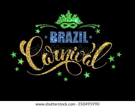 brazil carnival glittering