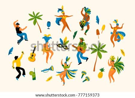 brazil carnival vector