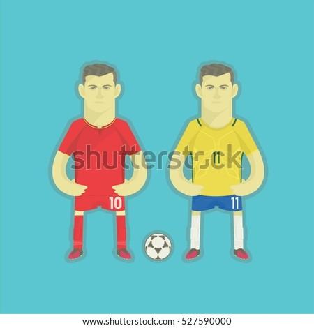 brazil football players