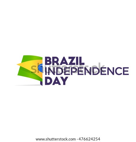 Brazil Independence Day. Flag of Brazil