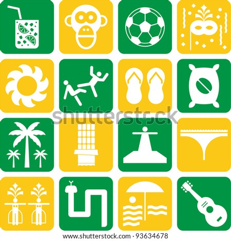 Brazil pictograms