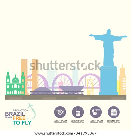 brazil travel background