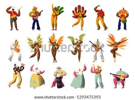 brazilian carnival character