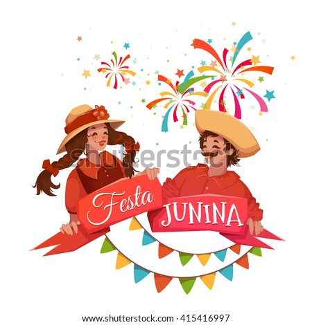 brazilian festa junina party