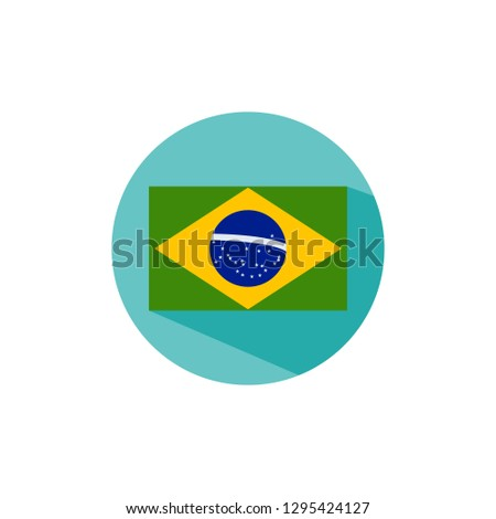 Brazilian flag,Brazilian flag icon