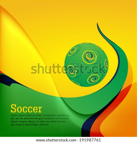 brazilian flag colour based