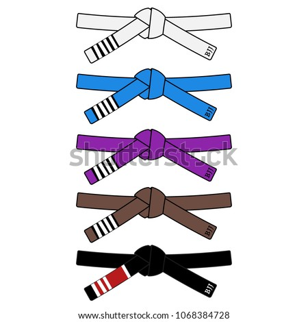 brazilian jiu jitsu adult belts