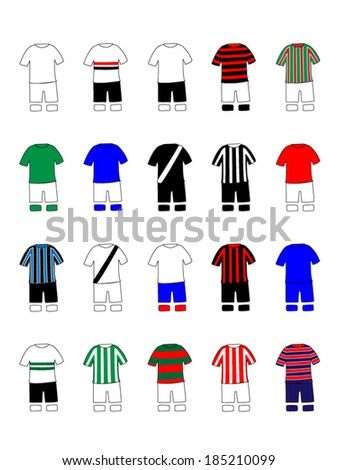brazilian league clubs jerseys