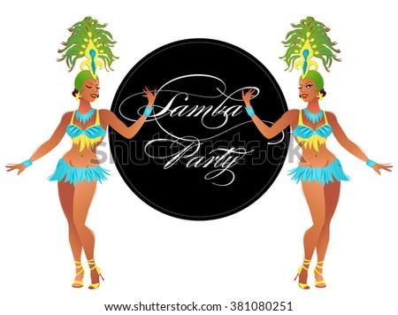 brazilian samba dancers a