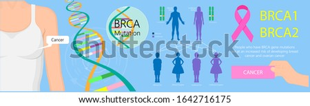 BRCA gene test breast ovarian cancer risk analyze BRCA1 BRCA2 diagnosis draw examine prevention detect cell female fallopian tube