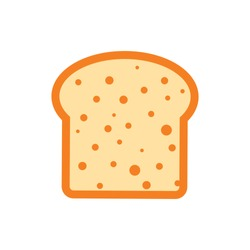 Bread Icon for Graphic Design Projects