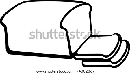 Slice of Bread Clipart Bread Loaf And Slices