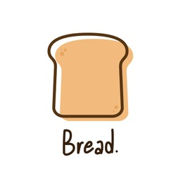Bread vector. bread symbol. wallpaper. free space for text. bread logo design.