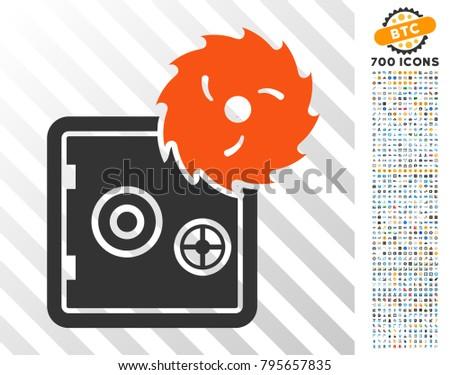 break banking safe pictograph