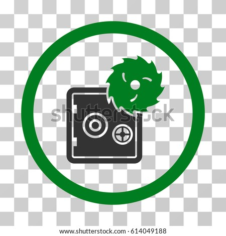 break safe icon vector