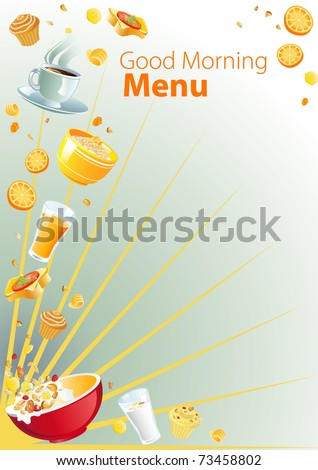 breakfast menu templates free. Black Bedroom Furniture Sets. Home Design Ideas