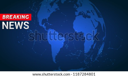 breaking news live broadcasting template design for channels