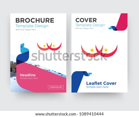 Vector Breast Cancer Awareness Template Download Free Vector Art - Breast cancer brochure template