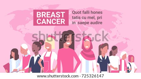 breast cancer day diverse group