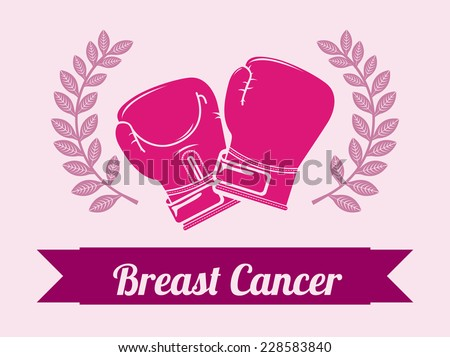breast cancer graphic design