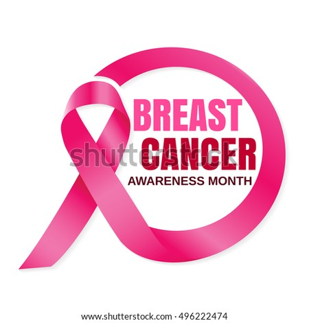 Breast Cancer October Awareness Month Campaign.Women health vector design #496222474