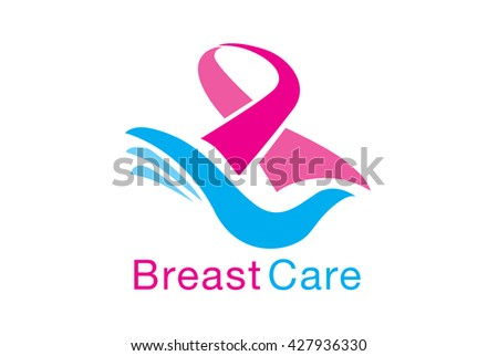 Vector breast cancer awareness template download free vector art breast care symbol meaning to breast cancer awareness pink ribbon on blue hand stop ccuart Gallery