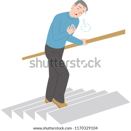 breath and climb the stairs is