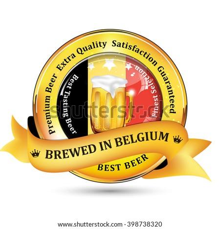 brewed in belgium   premium