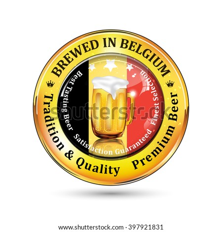 brewed in belgium   tradition