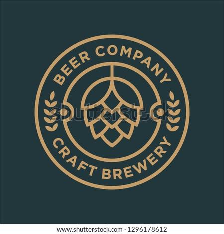 brewery logo design concept