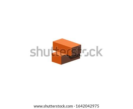 Brick vector flat icon. Isolated brick, construction blocks emoji illustration