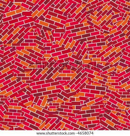 broken wallpaper. Seamless vector wallpaper.
