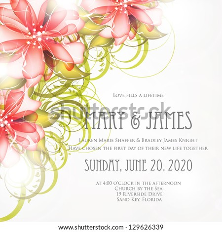 Bridal Shower invitation card