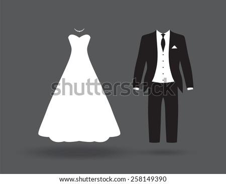 stock-vector-bride-and-groom